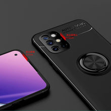 Load image into Gallery viewer, OnePlus 8T Metallic Finger Ring Holder Matte Case