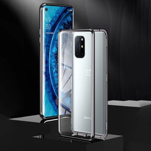 OnePlus 8T (Front+Back) Protection Magnetic Glass Case