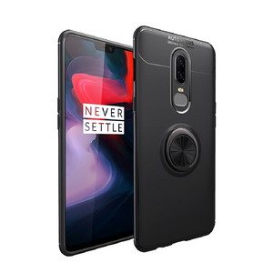 OnePlus All (3 in 1 Combo) Ring Case + Tempered Glass + Camera Lens Guard