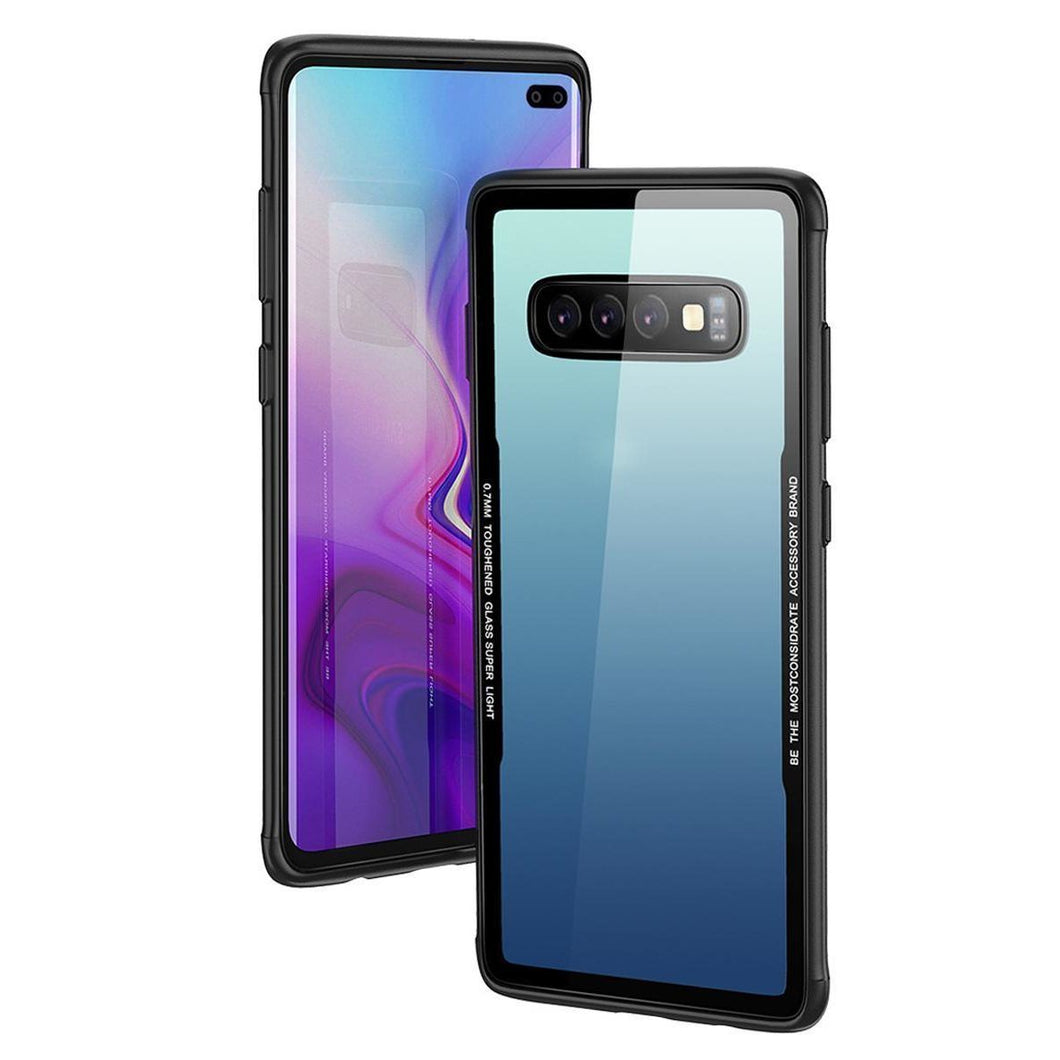 Galaxy S10 Plus Glassium Case + Tempered Glass + Camera Lens Guard