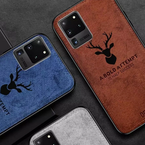 Galaxy S20 Series (3 in 1 Combo) Deer Case + Hydrogel Screen Film + Camera Lens Guard
