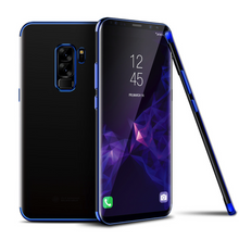 Load image into Gallery viewer, Galaxy S9 Plus (3 in 1 Combo) Glitter Case + Tempered Glass + Earphones