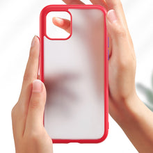 Load image into Gallery viewer, iPhone 11 Series (3 in 1 Combo) Matte Shockproof Case + Tempered Glass + Camera Lens Protector