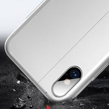 Load image into Gallery viewer, iPhone XS Auto-Fit Magnetic Colour Contrast Kickstand Case