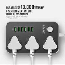 Load image into Gallery viewer, LDNIO ® Universal Power Socket with Multiple USB Charger Adapter