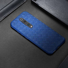 Load image into Gallery viewer, OnePlus 7T Pro (3 in 1 Combo) Grid Weaving Case + Tempered Glass + Camera Lens Guard