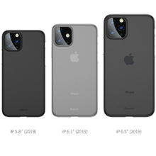 Load image into Gallery viewer, Baseus ® iPhone 11 Ultra Thin Matte Paperback Case