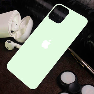 iPhone 12 Ultra-thin Glossy Back Tempered Glass