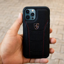 Load image into Gallery viewer, Ferrari ® iPhone 12 Pro Genuine Leather Crafted Limited Edition Case