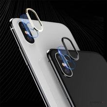 Load image into Gallery viewer, TOTU ® iPhone XS Camera Lens Glass Protector and Ring
