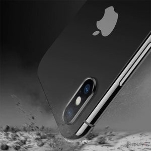 TOTU ® iPhone XS Camera Lens Glass Protector and Ring