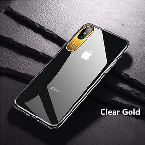 TOTU ® iPhone XS Clear Camera Protective Case