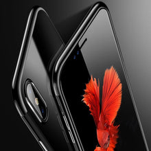 Load image into Gallery viewer, iPhone X Noble Series Ultra Thin Case + Tempered Glass + Camera Lens Guard