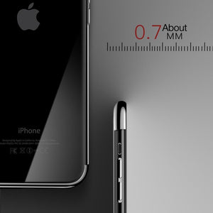 iPhone X Noble Series Ultra Thin Case + Tempered Glass + Camera Lens Guard
