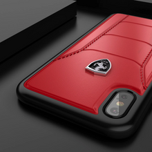 Load image into Gallery viewer, Ferrari ® iPhone XS Max Genuine Leather Crafted Limited Edition Case