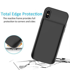 MK ® iPhone X Portable 3600 mAh Battery Shell Case