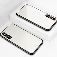 Load image into Gallery viewer, iPhone XS Luxury Soft Edge Acrylic Case
