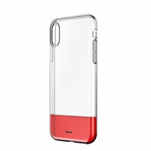 Load image into Gallery viewer, Baseus ® iPhone XR Hybrid TPU + PC Clear Case
