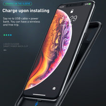 Load image into Gallery viewer, JLW ® iPhone XR Portable 6000 mAh Battery Shell Case
