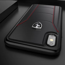 Load image into Gallery viewer, Ferrari ® iPhone X/XS Genuine Leather Crafted Limited Edition Case