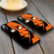 Load image into Gallery viewer, iPhone XS Lord Hanuman LED Laser Eyes Illuminated 3D Case