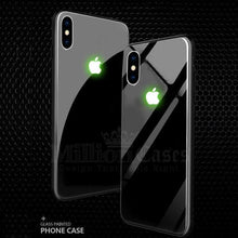 Load image into Gallery viewer, iPhone X Radium Glow Light Illuminated Logo 3D Case