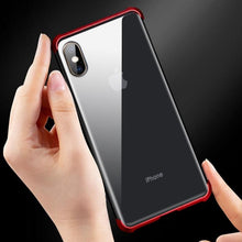 Load image into Gallery viewer, iPhone XS Max Frameless Auto-Fit (Front+ Back) Magnetic Glass Case