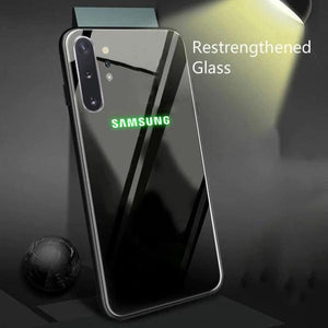 Galaxy Note 10 Plus Radium Glow Light Illuminated Logo 3D Case