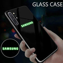 Load image into Gallery viewer, Galaxy Note 10 Plus Radium Glow Light Illuminated Logo 3D Case
