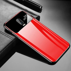 OnePlus 7 (3 in 1 Combo) Lens Case + Tempered Glass + Camera Lens Guard