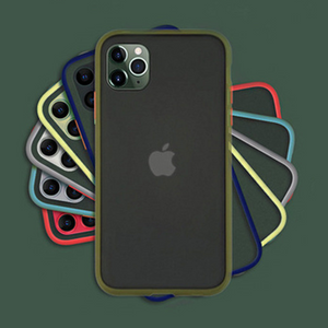 iPhone 11 Pro Max Luxury Shockproof Matte Finish Case