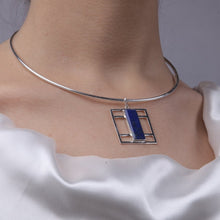Load image into Gallery viewer, Daricha Lapis Necklace-Veezha