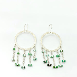 Baran Emerald Earrings-Veezha