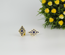 Load image into Gallery viewer, Afghan Cufflinks -Veezha