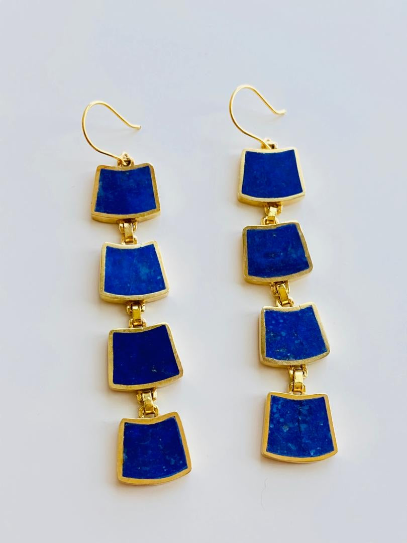 Rangina Lapis Earrings