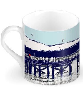 Bone China Mug - Beaumaris Pier
