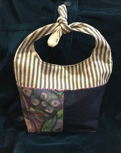 Hobo Style Lunch Sack - Small