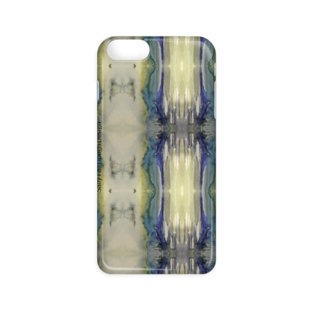 Blue Abstract - Phone Case