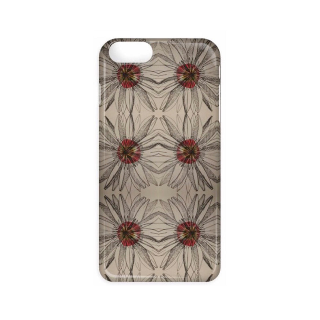 Daisy Red - Phone Case