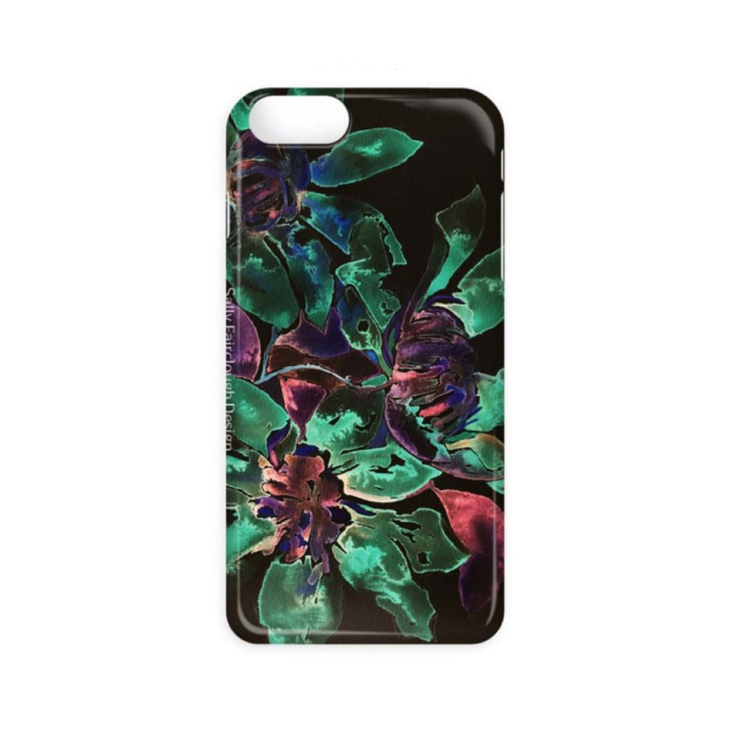 Dark Clematis - Phone Case