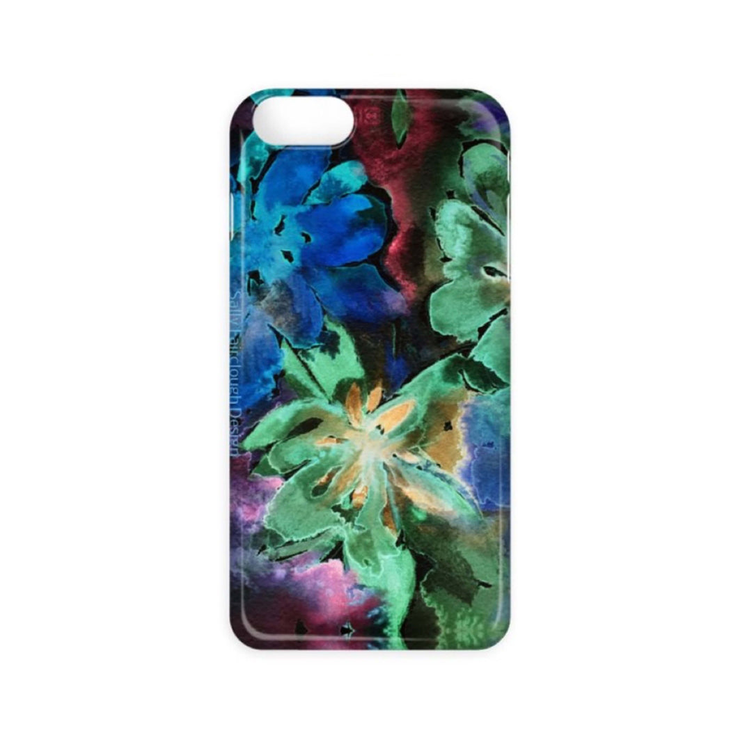 Dark Flowers - Phone Case
