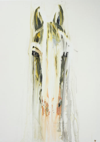 Horse Face - Mounted Print