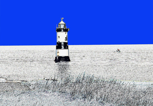 Penmon Lighthouse - Greeting Card