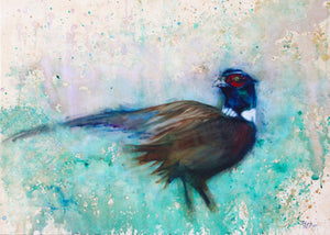 Pheasant - Greeting Card