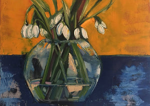 Snowdrops - Mounted Print