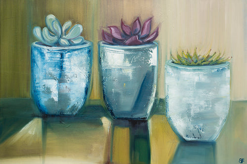 Three Pots - Original Art