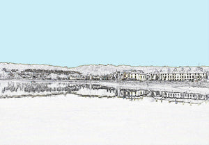 West End Beaumaris - Greeting Card