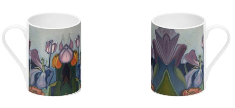 Bone China Mug - Through the Tulips