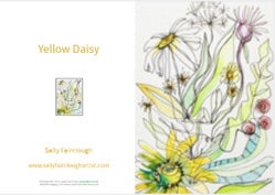 Yellow Daisy - Greeting Card