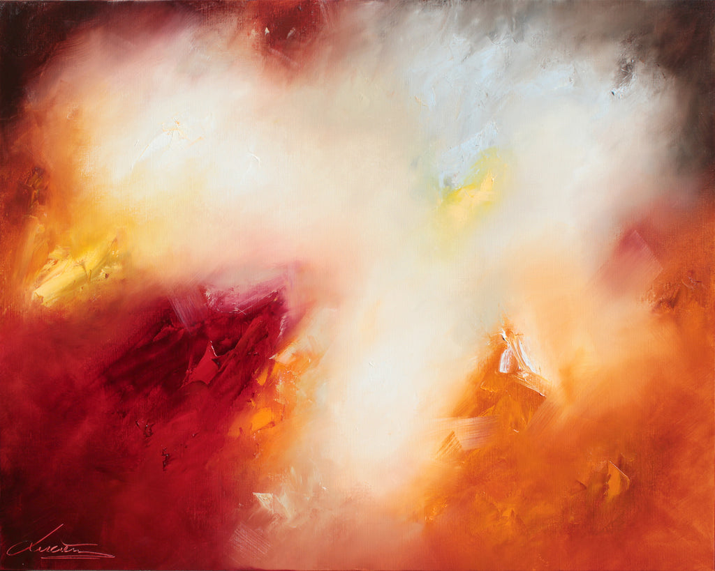 New edge of light (120 x 150cm) - ArtFusion.nl